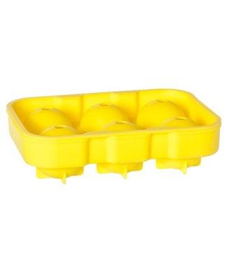 Cosy & Trendy Yellowgin Ball Tray In Six 18x12.6x4.8cm