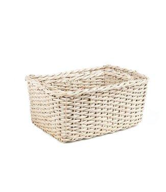 Cosy & Trendy S3 Storage Basket Rect. Brown 38x28xh1834x24xh16cm - 30x20xh14cm