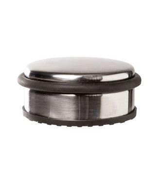 Cosy & Trendy Deurstop Rond Metaal Grijs 10x10x4.5cm1110gr