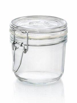 Bormioli Fido Jar 350 Ml Joint Blanc Set 6