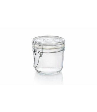 Bormioli Fido Jar 35cl Set6 White Ring