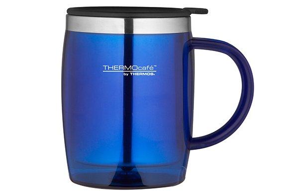 Thermos Desk Mug Blauw 0.45l9x9x12cm (set van 6)