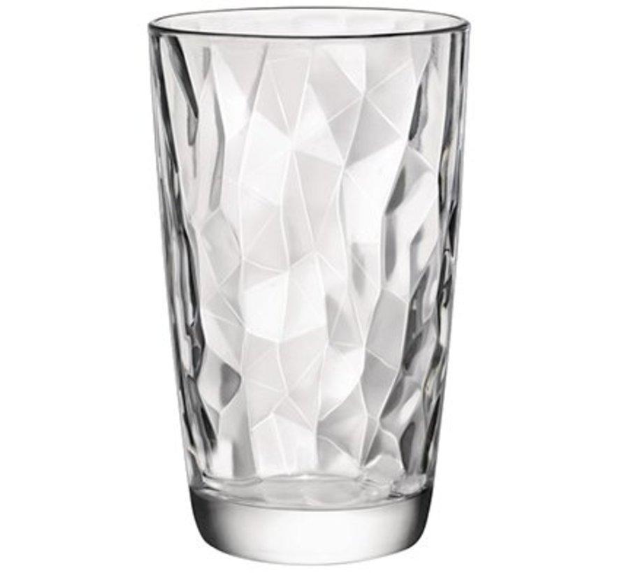 Diamond Tumbler 47 Cl Set 3 (set of 6)