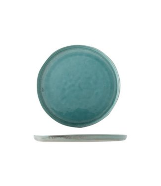 Cosy & Trendy Isabeau - Dinner plate - Blue - D30cm - Porcelain - (set of 6).