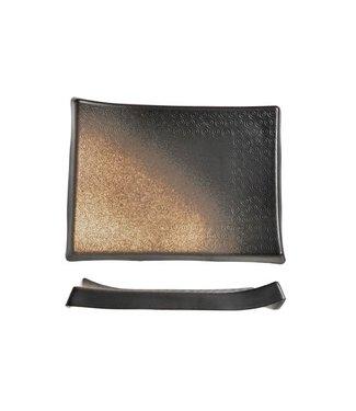 Cosy & Trendy Shoshu - Platte - Gold - 34x25xh4cm - Keramik - (3er-Set).