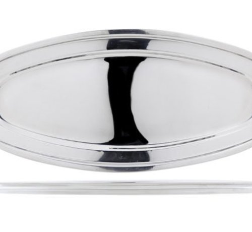 Cosy & Trendy Oval Fish Platter Rvs 56.2x24xh2.3cm