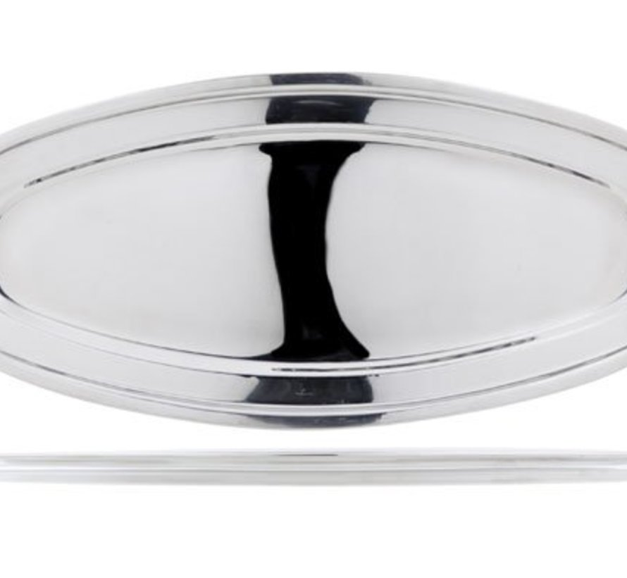 Oval Fish Platter Rvs 56.2x24xh2.3cm