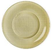 Bormioli Inca Flat Diner 31 Gold