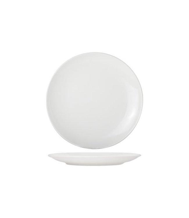 Cosy & Trendy For Professionals Adesso - Dessertbord - D18cm - Wit - Porselein - (set van 6)