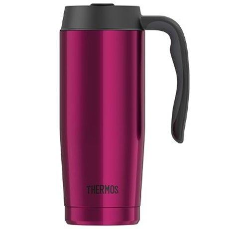 Thermos Gtb Basics Travel Mug Magenta 470ml4h Warm 9h Koud
