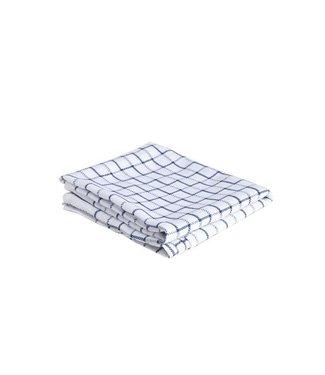 Cosy & Trendy For Professionals Keukenhanddoek Vk 68x68cm Blauw100 Katoen 83gr/m²