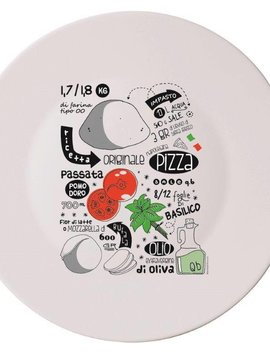 Bormioli Pizzabord Recipe 33 Cm Set 4