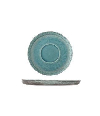 Cosy & Trendy Isabeau - Schaaltje - Blauw - D15cm - Porselein - (set van 6).