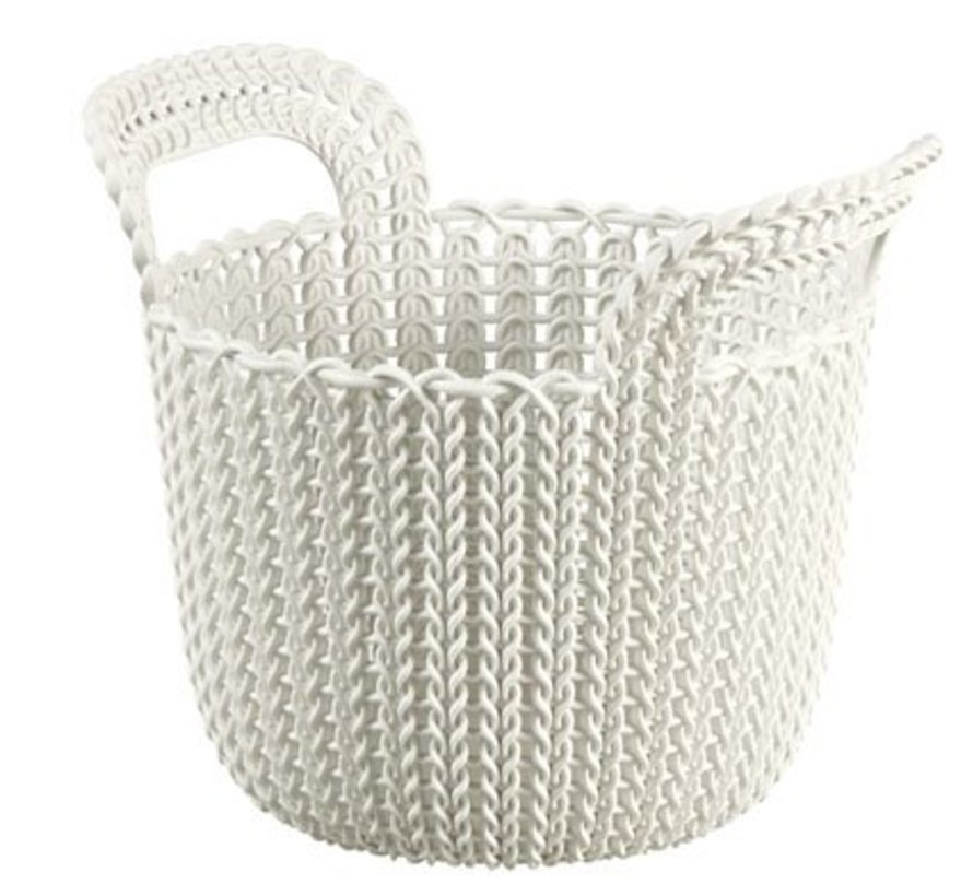 Knit Mand Xs R0 3l Oasis White23x19x19cm