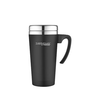 Thermos Soft Touch Travel Mug Zwart 420ml
