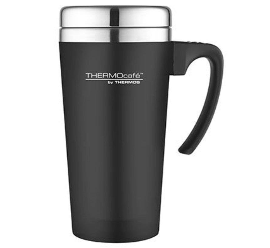 Soft Touch Travel Mug Zwart 420ml