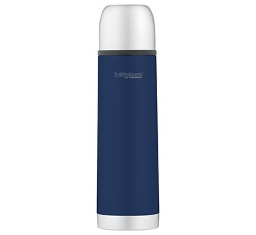 Thermos Soft Touch Isolierflasche Edelstahl 0.5lblau