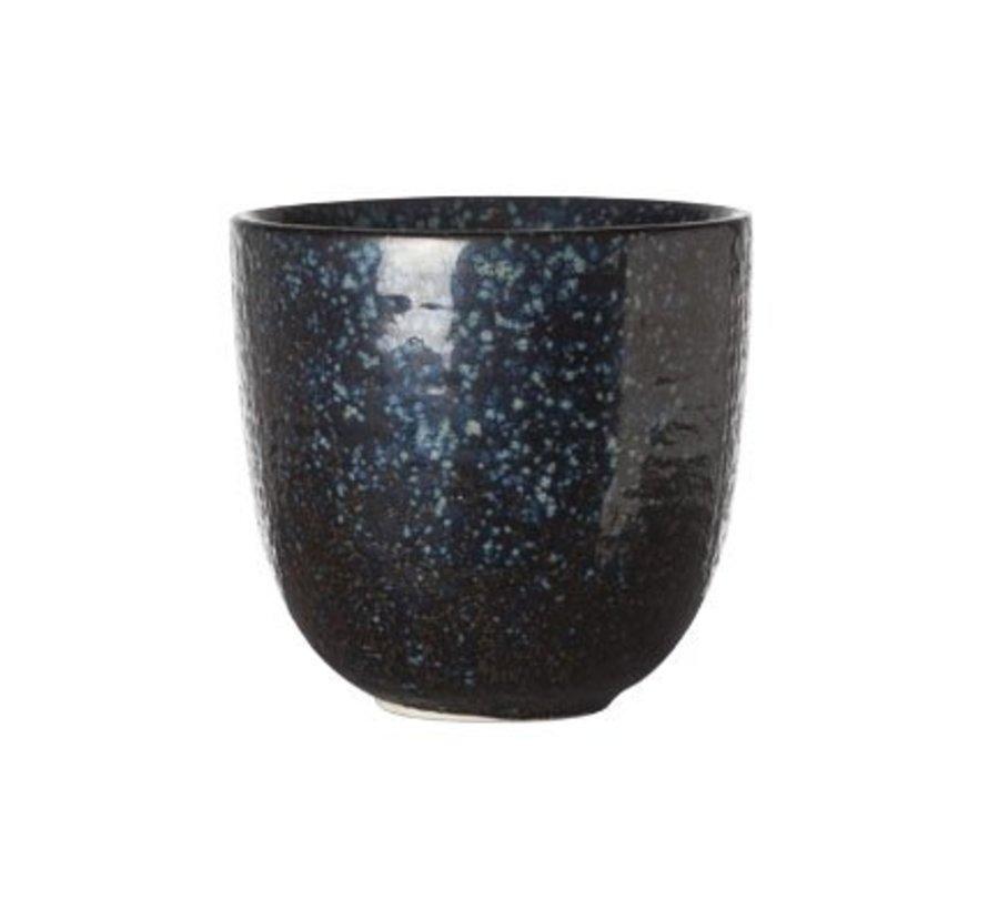 Black Yoru Kopje 8.5xh8cm ( set van 6 )