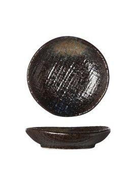 Cosy & Trendy Black Yoru Bord 8cm (set van 12)
