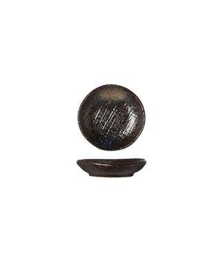 Cosy & Trendy Black Yoru Plate 8cm (set of 12)