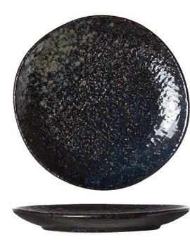 Cosy & Trendy Black Yoru Plate 14cm set di 6
