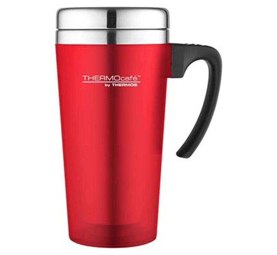 Soft Touch Travel Mug Rood 420ml