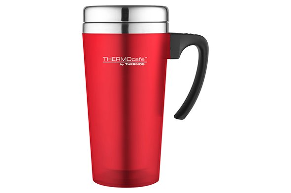 Thermos Soft Touch Travel Mug Rood 420ml