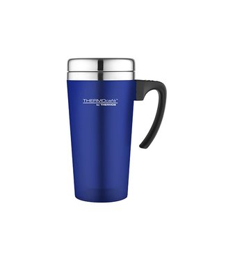 Thermos Soft Touch Travel Mug Blue 420ml