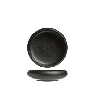 Cosy & Trendy Fundido - Bowl - Round - Black - D15xh4cm - Earthenware - (Set of 6).