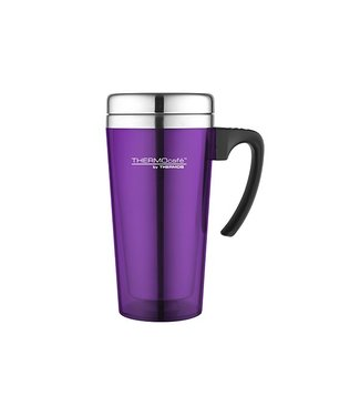Thermos Soft Touch Travel Mug Purple 420ml
