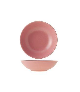 Cosy & Trendy Serena  piatto zuppa rosa Diametro: 21 cm (set di 12)