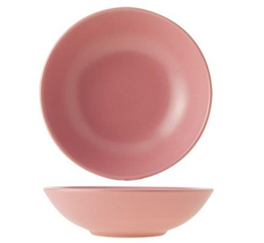 Serena Pink Diep Bord D21cm (set van 12)