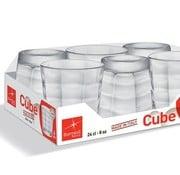 Bormioli Cube Waterglas 24 Cl Set 6