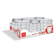 Bormioli Cube Waterglas 24cl Set 6