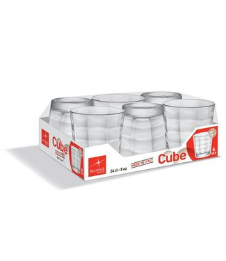 Bormioli Cube Waterglas 24 Cl Set 6