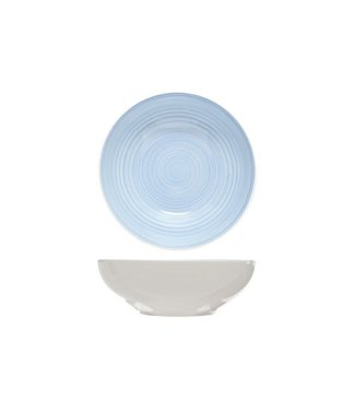 Brandless Pastabord Blue D22xh7.5cm (set van 4)
