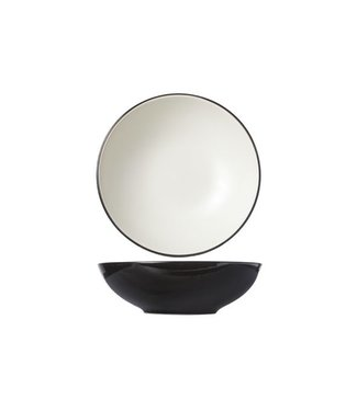 Cosy & Trendy Finesse Vanilla Deep Plates D20xh6.2cm - Ceramic - (set of 6)
