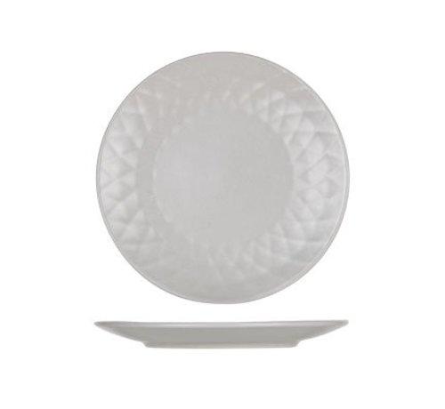 Cosy & Trendy Prisma Taupe Dessert Plate D20cm (6er Set)