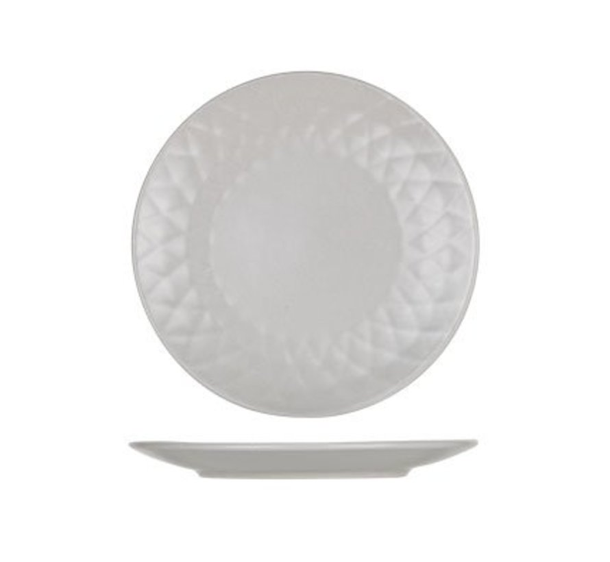 Prisma Taupe Dessertbord D20cm (set van 6)