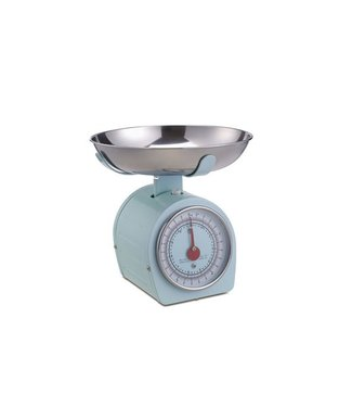 Cosy & Trendy Kitchen Scale And Bowl Pastel Greenstainless Steel   20.5x20.5xh20.3cm