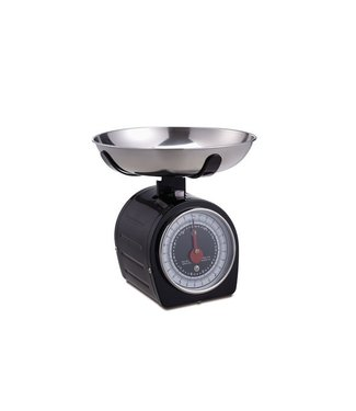 Cosy & Trendy Kitchen Scale And Bowl Blackstainless Steel    20.5x20.5xh20.3cm (set of 8)