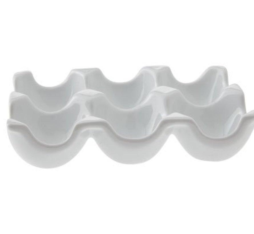 Egg Holder 15.5x10.5cm For 6 Eggs (12er Set)
