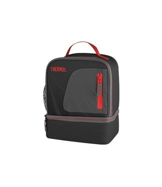 Thermos Radiance Dual Compartm Lunchkit Zwart
