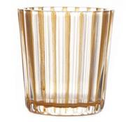 Cosy @ Home T-lichthalter Elize Glas Orange 6x6x6cm (12er Set)