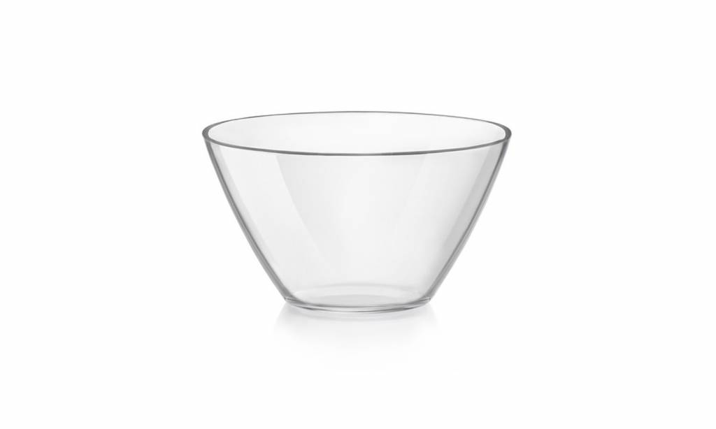Bormioli Basic Salad Bowl Glass 17cm  1.1l (set of 6)