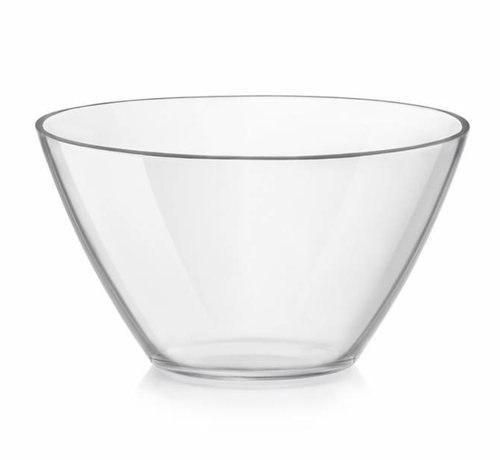 Bormioli Basic Saladier Glas 20cm 1.8l (set van 6)