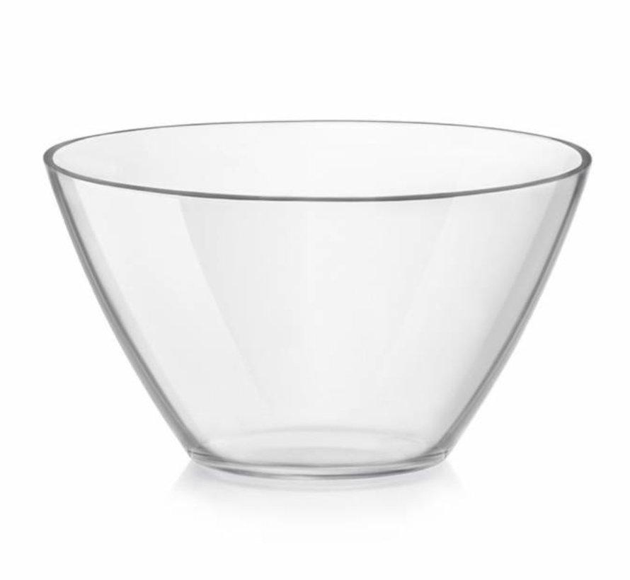 Basic Salad Bowl Glass 20cm  1.8l (set of 6)