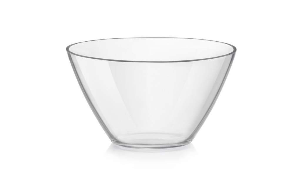 Bormioli Basic Salad Bowl Glass 20cm  1.8l (set of 6)