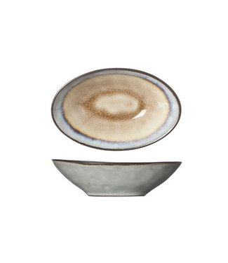 Cosy & Trendy Castor Oval Bowl 14x9xh4cm (set of 6)