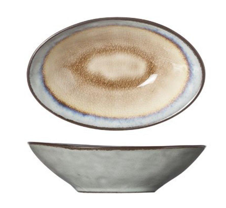 Castor Oval Bowl 14x9xh4cm (6er Set)